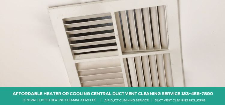 AFFORDABLE HEATER COOLING CENTRAL DUCT VENT CLEANING SERVICE